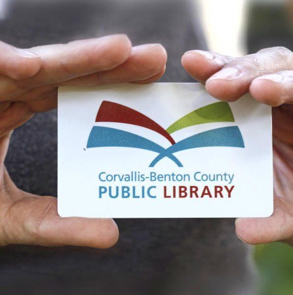 Corvallis Benton County Public Library card