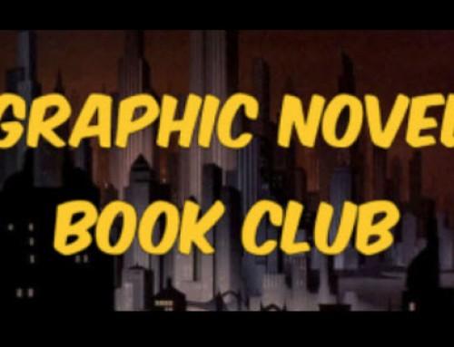 April 2017 Graphic Novel Book Club