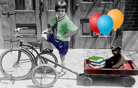 trike and wagon