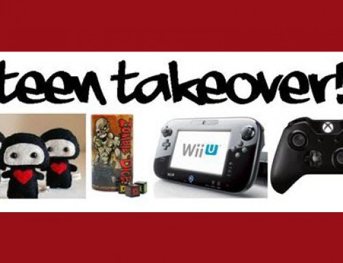 Teen Takeover! play games. watch movies. make art.