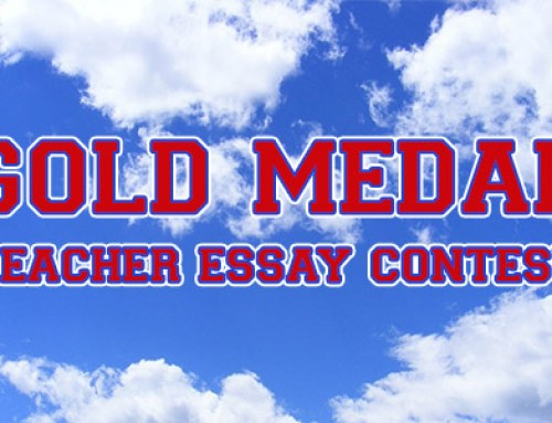 Teacher Essay Contest Winners Announced
