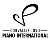 Corvallis OSU Piano International logo