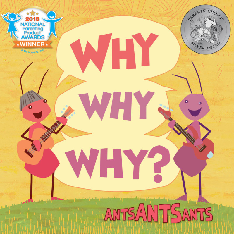 Why Why Why by Ants Ants Ants album cover yellow with ant