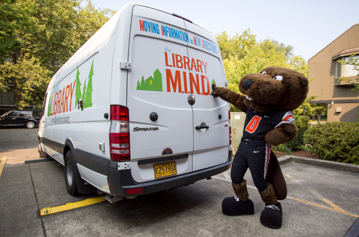 Beavs and the Bookmobile