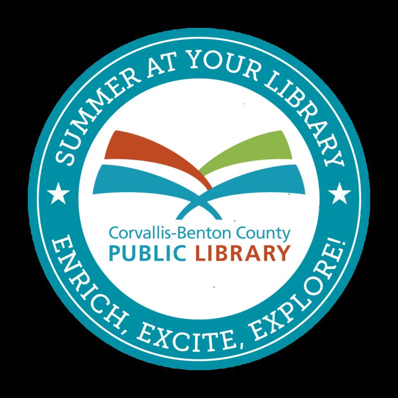 summer reading badge blue