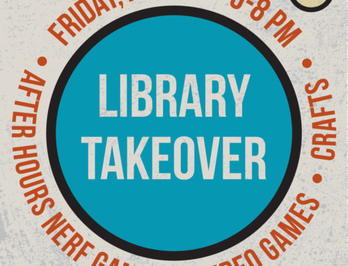 Library Takeover (for Adults!)