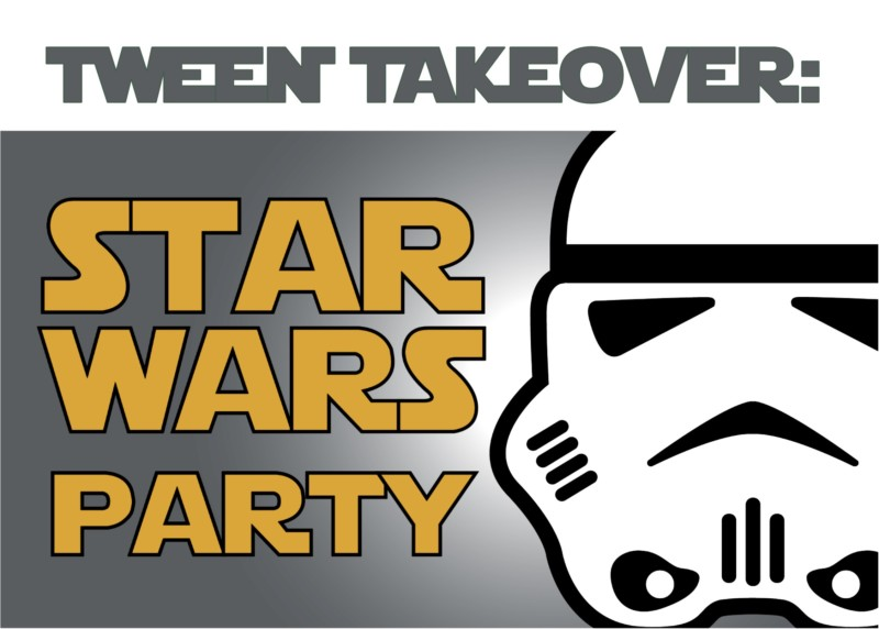 star wars party stormtrooper