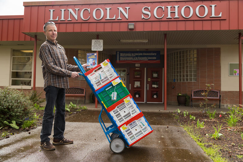 delivering to lincoln school