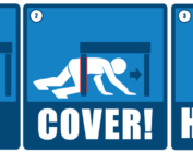 drop cover hold great shakeout