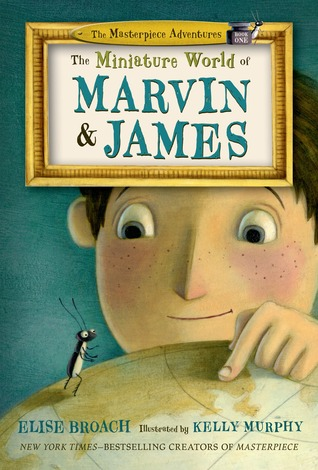 miniature world of marvin and james book cover