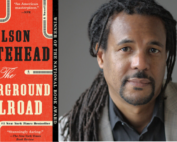 "Photo of Book ""Underground Railroad"" and author Colson Whitehead"