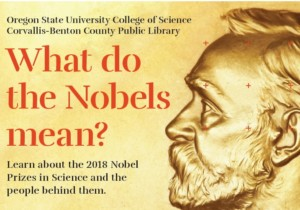 Image of poster for What Do the Nobels Mean? event