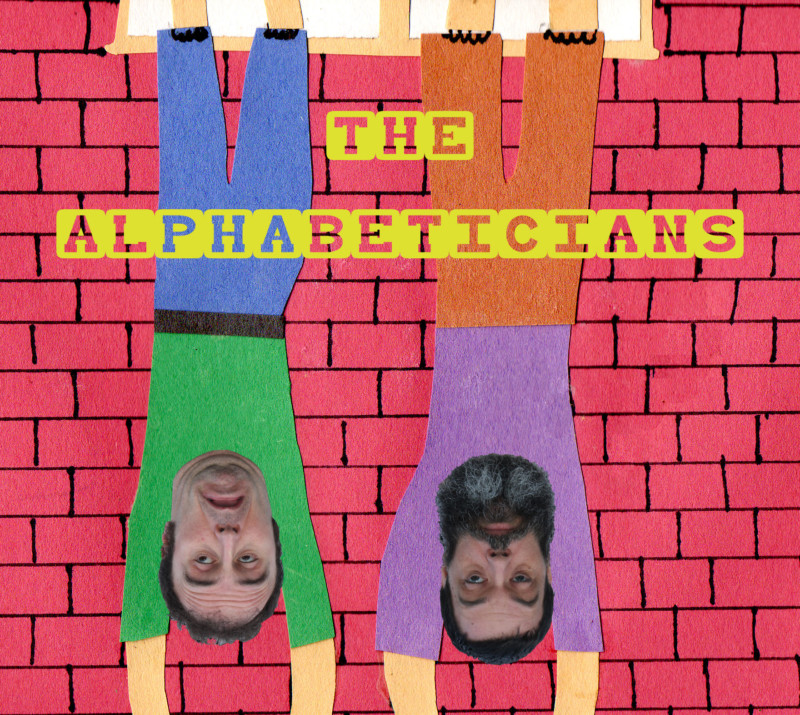 Alphabeticians upside down album cover