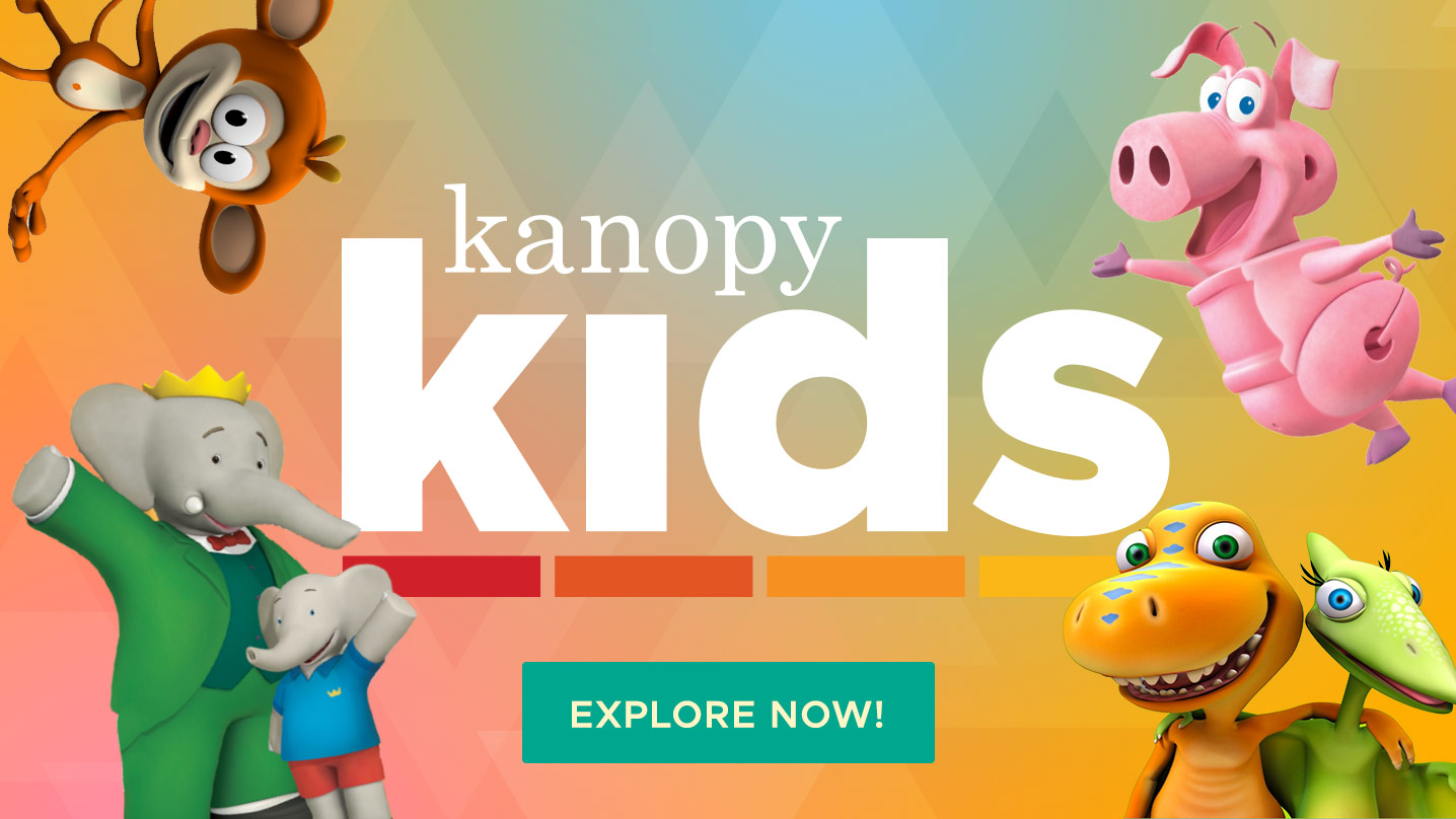 Kanopy Kids explore now