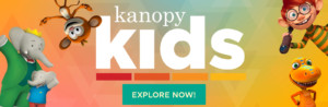 Kanopy Kids banner