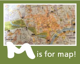 M is for Map