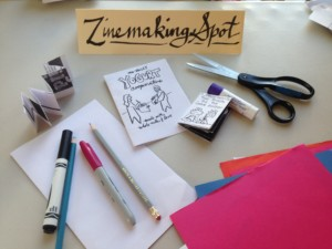 Supplies for Making Zines